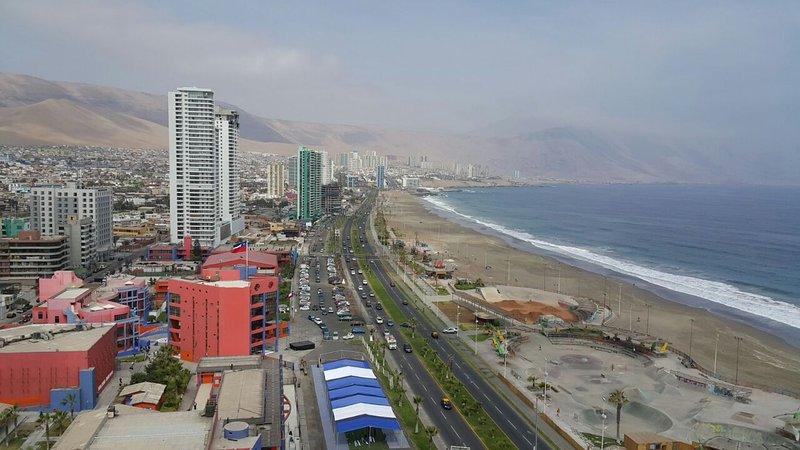 Alto Departamento frente al mar Iquique, vacation rental in Iquique
