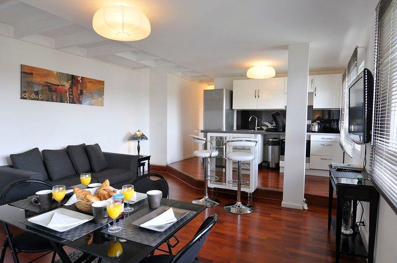 1 Creativ Appart proche VERSAILLES 4P, vacation rental in Guyancourt
