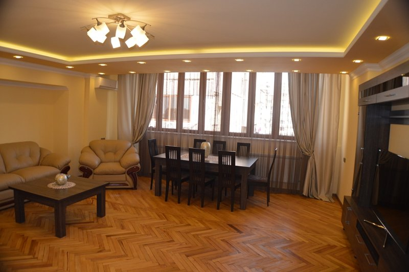 Three room apartment with a beautiful view, holiday rental in Yerevan