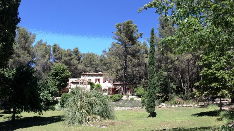 Le Mas du Philosophe, Provence, holiday rental in Mimet