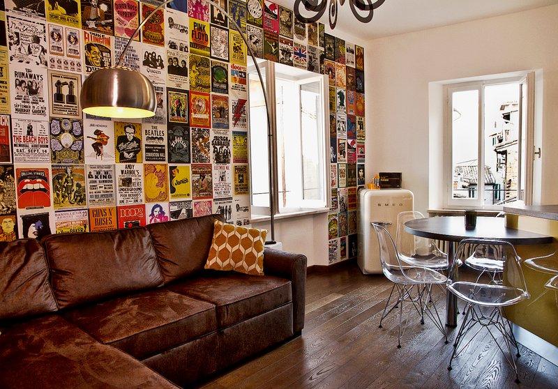 Casa Malichi - Rètro Apartment - Rock, Ferienwohnung in Perugia