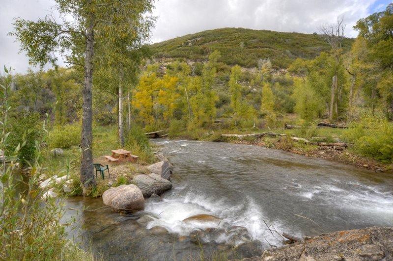 Riverside Fishing Cabin near Durango Colorado, holiday rental in Hesperus
