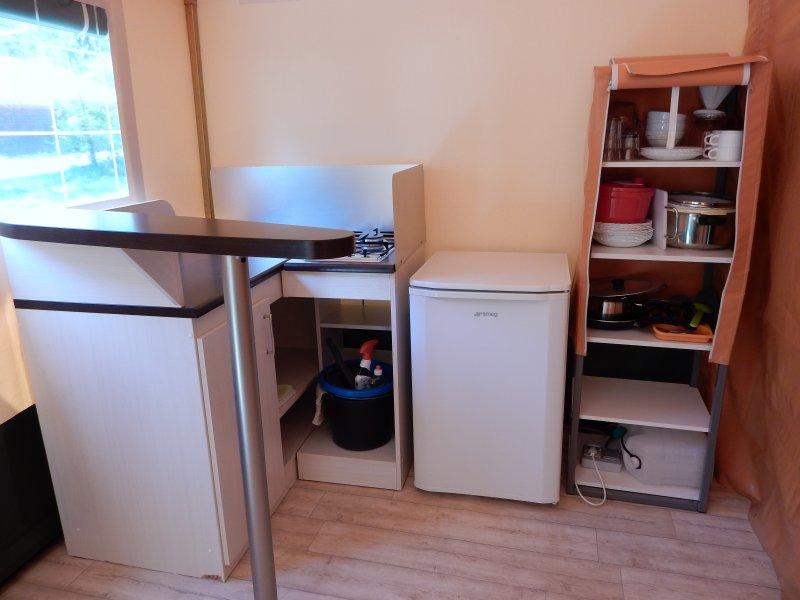 El área de la cocina