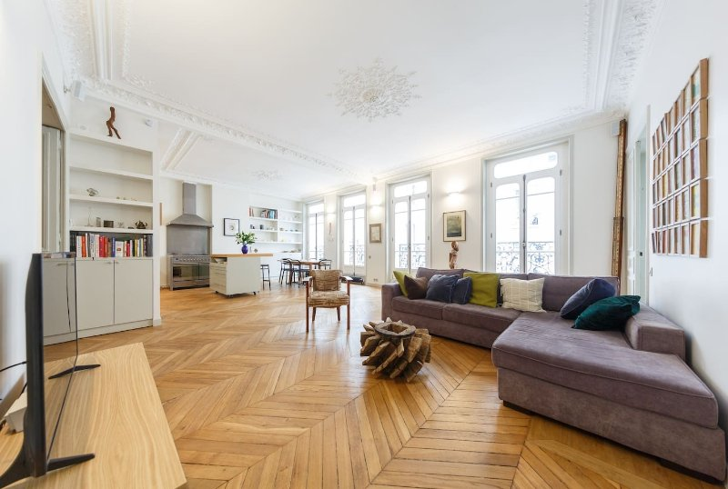 Apartment Echiquier 3 Bedroom Paris For Short Term Stays Flat Ren