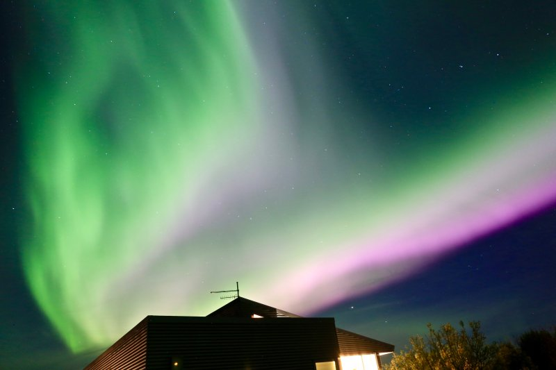 Taken in early September. Here the Northern Lights can be extremely bright