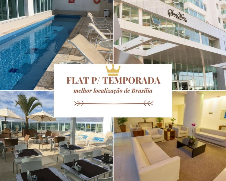 ★ Flat p/ curta e média temporada no centro ★, holiday rental in Riacho Fundo