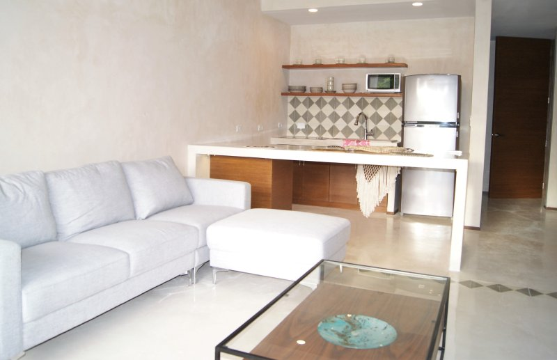 Large Living Room with private pool and double height ceilings - Trip Advantages AZ303