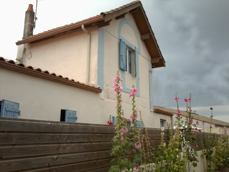 Charmante  Petite Maison Indépendante Classée Meublé deux étoiles, holiday rental in Vergeroux
