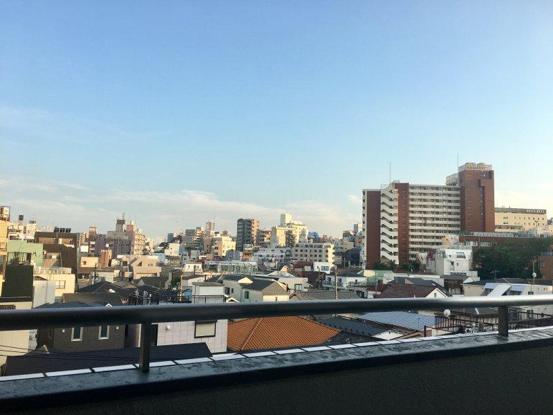 Belle vue depuis le balcon