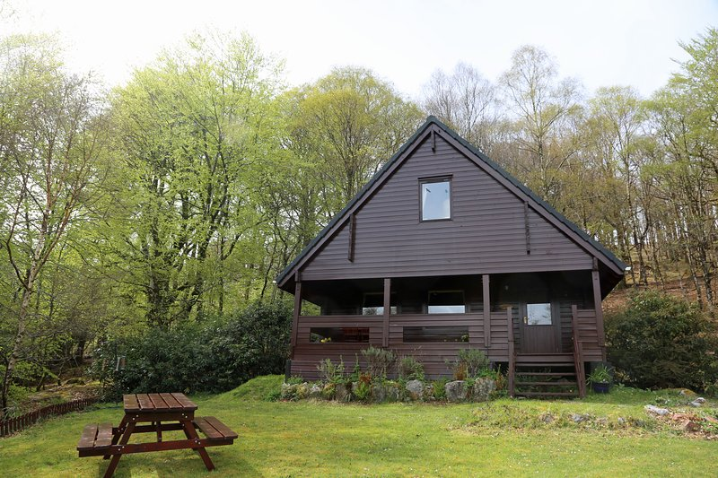 Hooting Lodge all'inizio della primavera