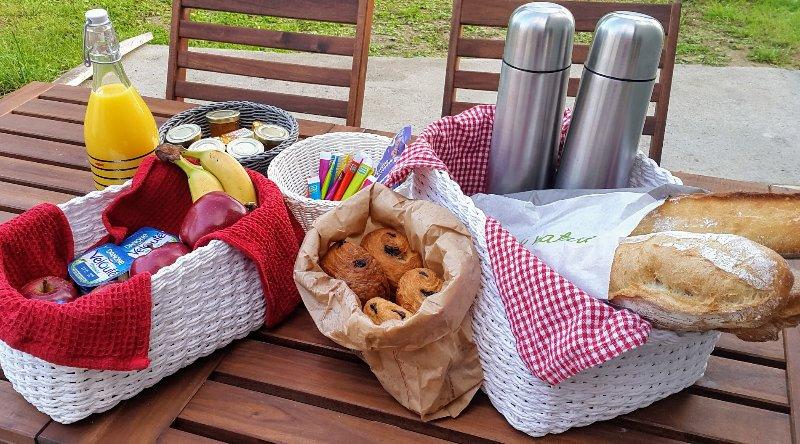 breakfast basket 6.5 / pers