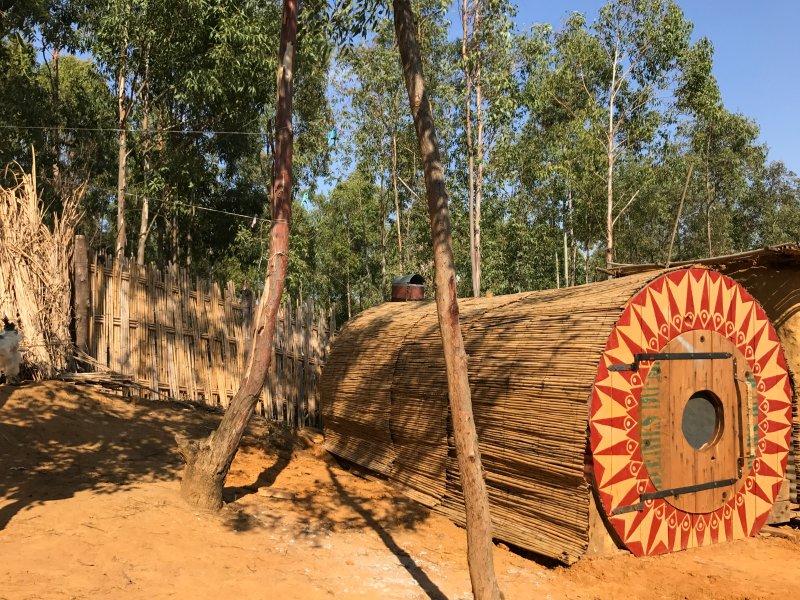 Mandala Cable Reel Cabin, alquiler de vacaciones en Arcila