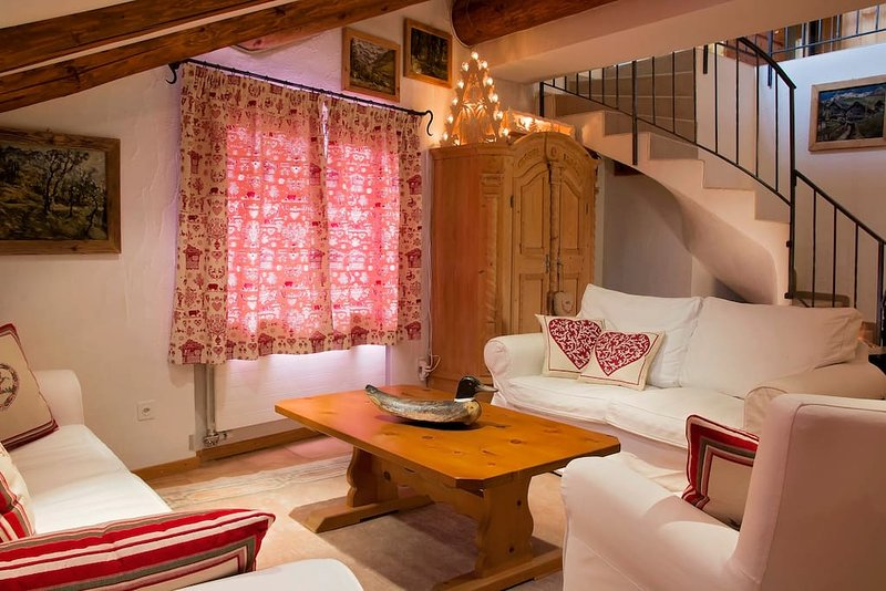 ST.MORITZ: COSY AND CHARMING ENGADINE !! Chalet in St Moritz