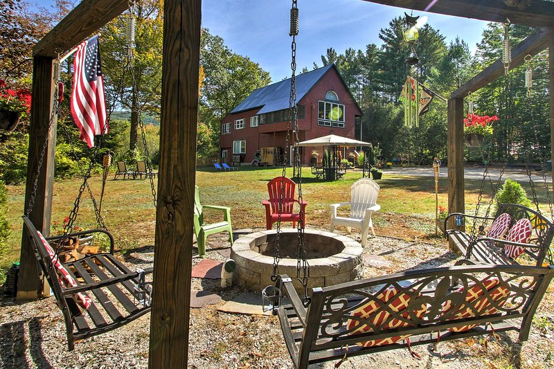 A relaxing retreat awaits you at this stunning North Conway vacation rental house!