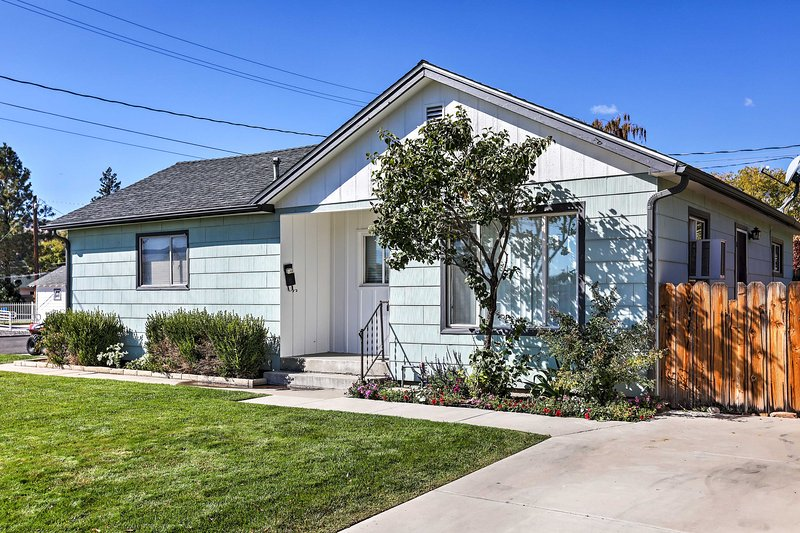 Plan your next Carson City escape to this completely renovated 2-bedroom, 1-bathroom vacation rental house in Nevada.