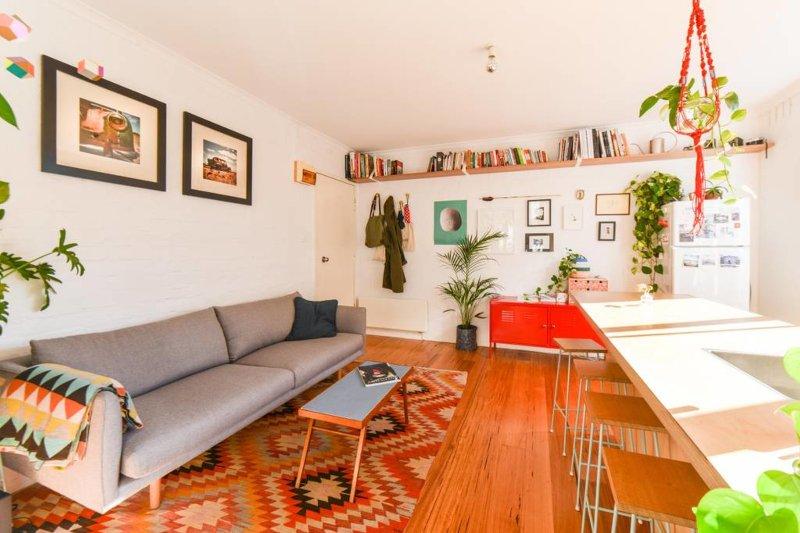 Il nostro accogliente appartamento monolocale a pochi metri dalla famosa via Gertrude a Fitzroy