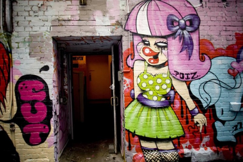 Tour the laneways nearby and find hidden gems!