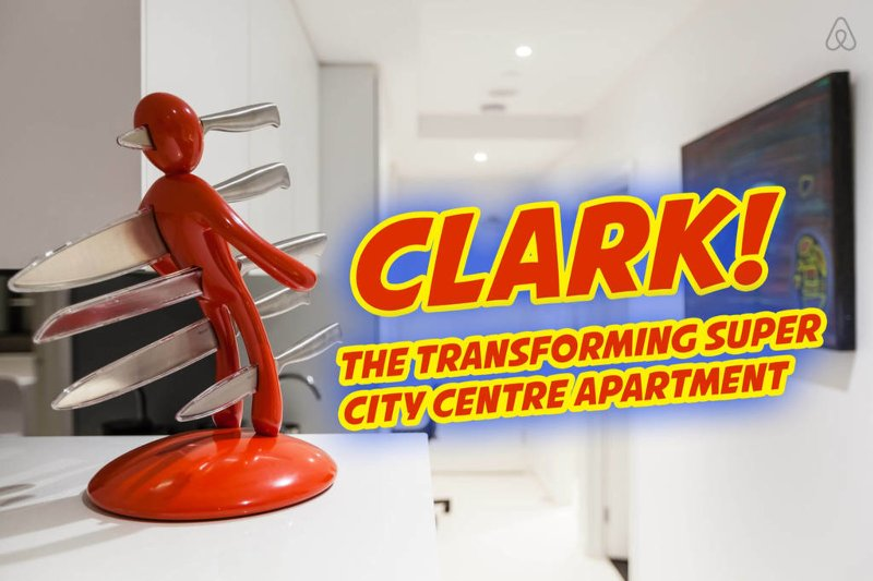 Clark, the Transforming Apartment, holiday rental in Melbourne
