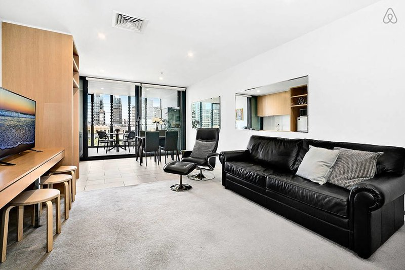 Miles, 1BED River view WIFI+Parking, holiday rental in Melbourne
