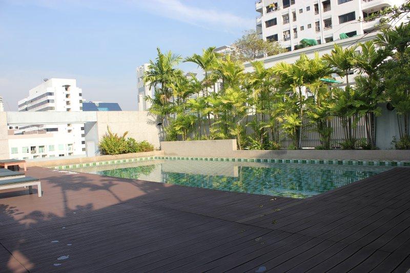 Nice pool on the roof top