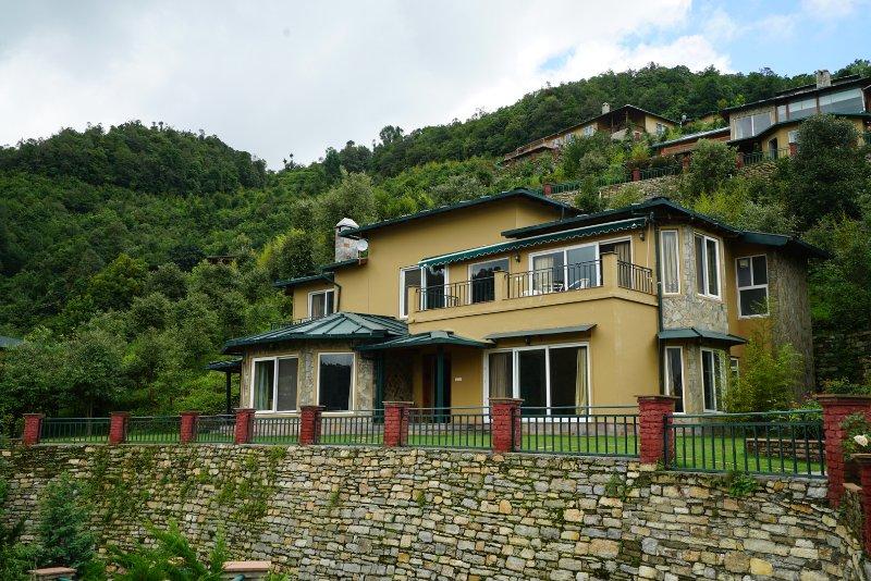 The Arudra Villa..up close !