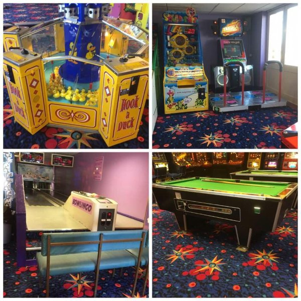 Arcade - 5 minutes walk from the cottage