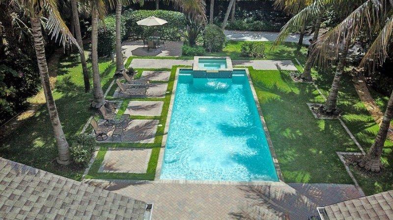Backyard-Pool View