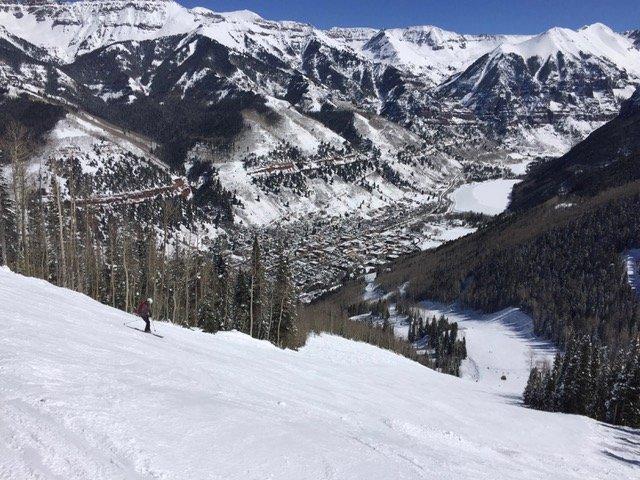 Telluride Ski Resort was recently voted the #1 ski resort in North America by Conde Naste Traveler.