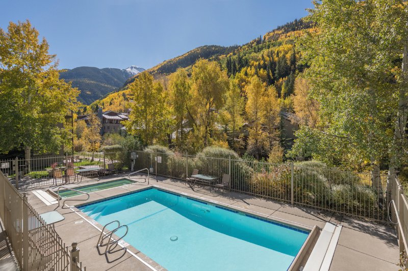 The Viking Lodge has a hot tub (year-round) and heated swimming pool in the summer.
