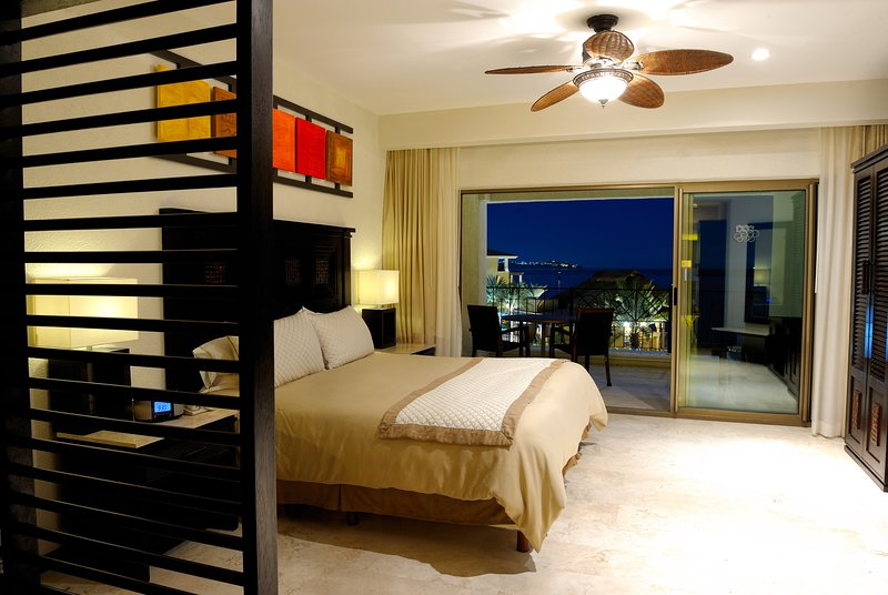 Beautiful Junior Suite Junior Suite feature furnished balconie with ocean view.