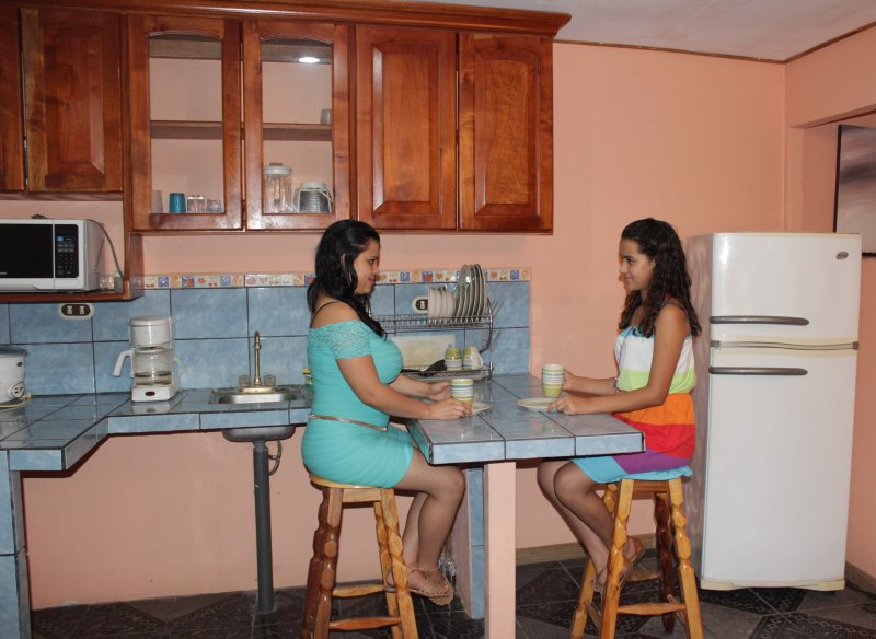 Área de cocina Equipada