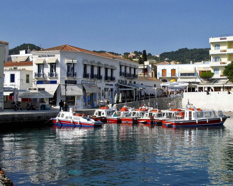 Dapia - Spetses island view