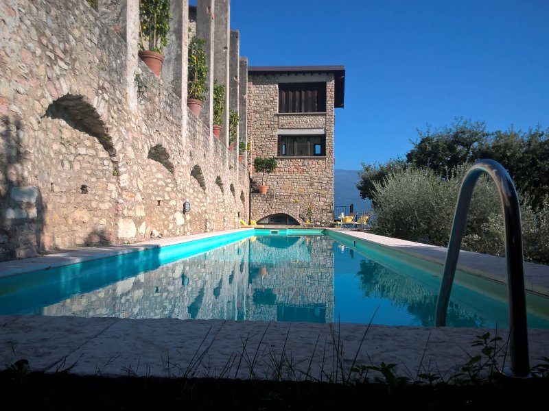 Spectacular historic Limonaia with breathtaking lake views, private pool, holiday rental in Gargnano