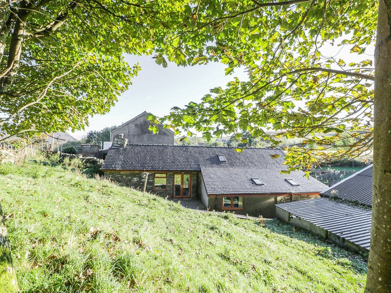 YR HEN DY, exposed wooden beams and stone, Snowdonia National Park, centre of, vacation rental in Gellilydan