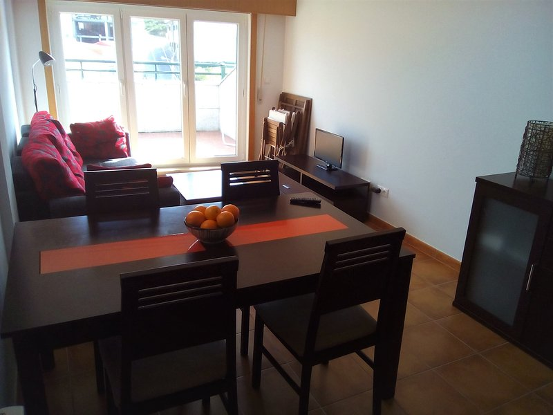 Dining and living room.