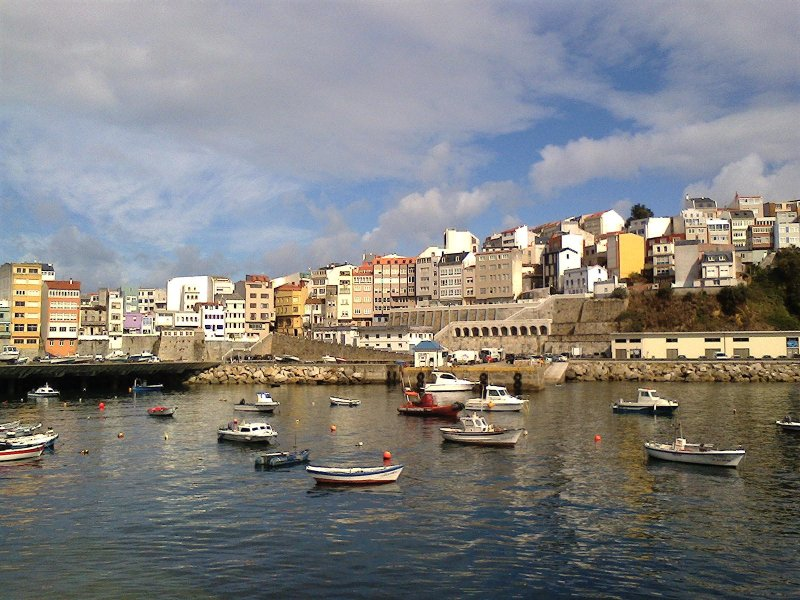 Fishing port of Malpica.