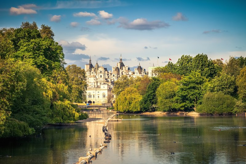 Take a stroll to St James' Park