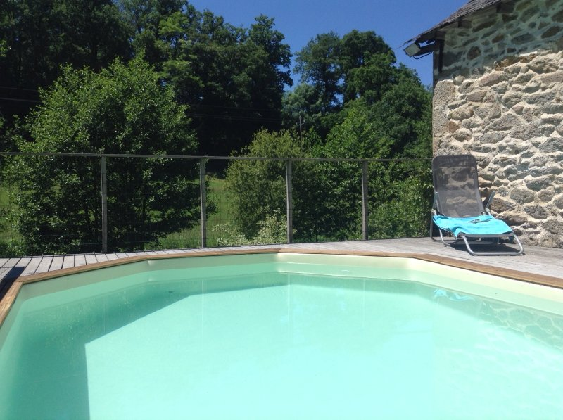 Private Pool 5 * 3 * 1.20H, exclusively for cottage