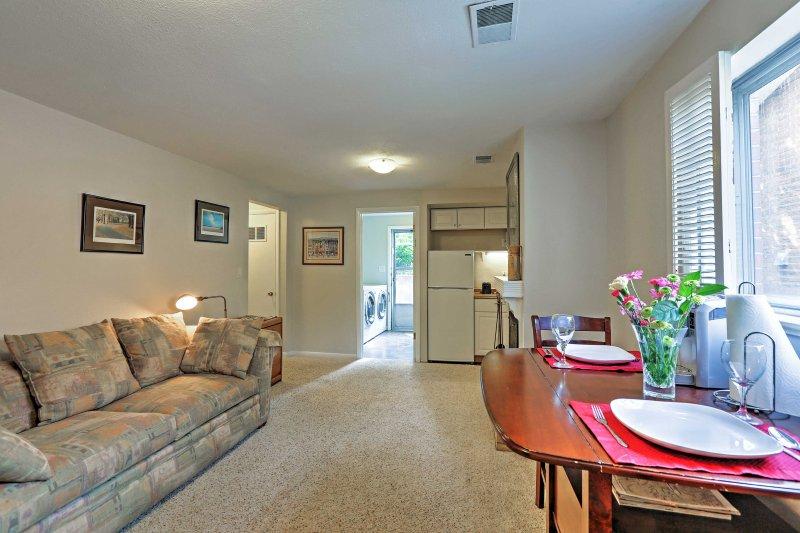 Ontdek de allure van Denver van dit charmante 1-slaapkamer, 1-badkamer vakantie appartement!