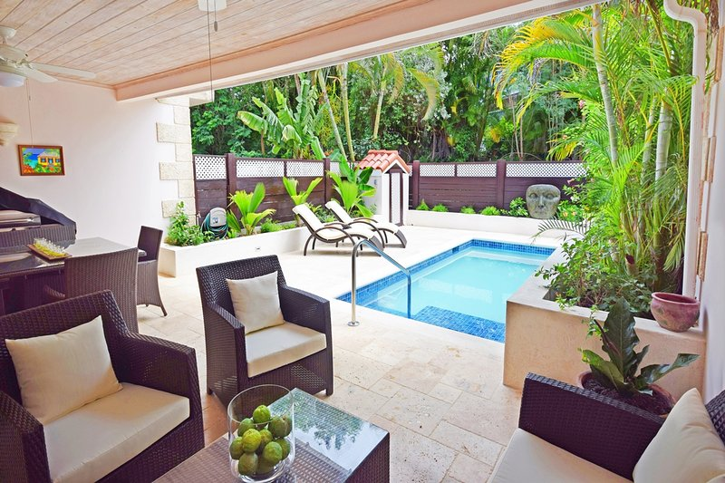 Lounge comfortably or dine al fresco - this is the best place to be when you're not exploring the island!