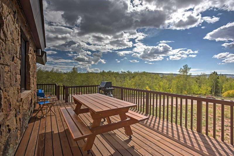 You'll get lost in the  scenic views that surround the property.