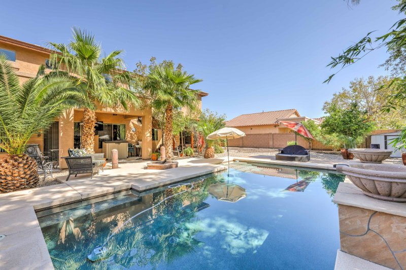 Relax under the Arizona sun at this 6-bedroom, 4-bath vacation rental home.