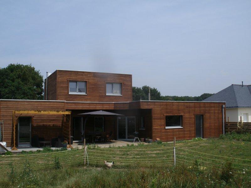 4 chambres d'hôtes dans maison bois ecologique, alquiler de vacaciones en Sulniac