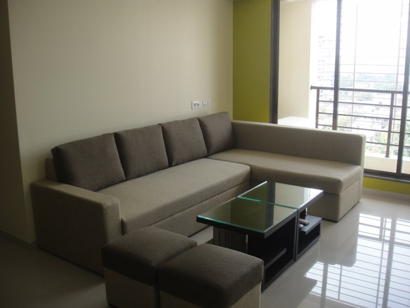 3-BHK fully Furnished Service Apartment for Larger Family Stay, vacation rental in Mumbai