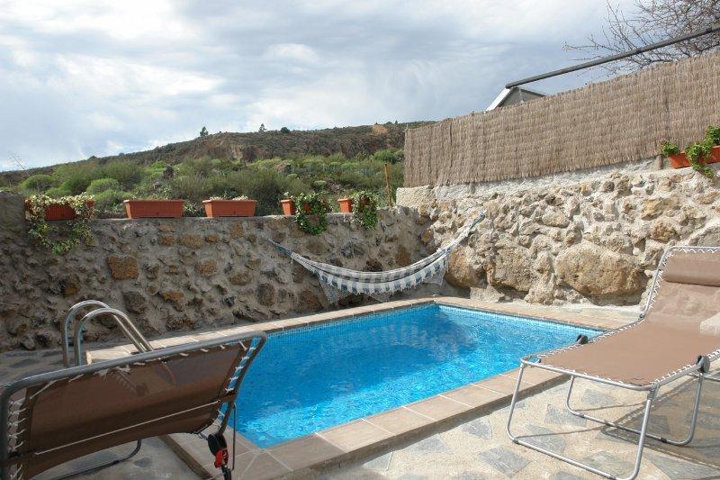Casa letto con piscina che si affaccia Taucho La Gomera a Tenerife Tenerife Ramón piscina