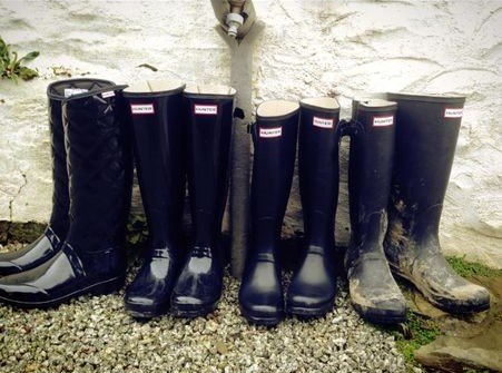 We advise bringing your wellies!