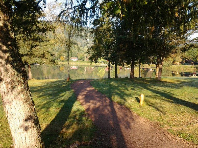 Lake Saulxures ...