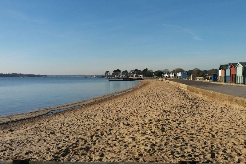 Hamworthy Beach 3 Mins from ' A Shore Thing'