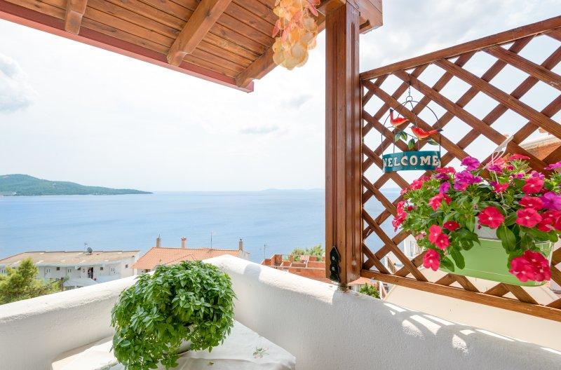 Galini Apartment in Neos Marmaras, Chalkidiki, aluguéis de temporada em Paradisos