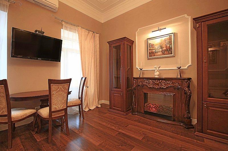 Two-room. 38 Ivana Franka St. Centre of Kiev, vacation rental in Kyiv (Kiev)